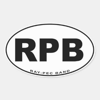 Pegatina de la banda Rayo-CPE