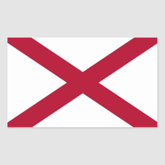 Pegatina de la bandera de Alabama*