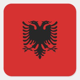 Pegatina de la bandera de Albania