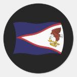 Pegatina de la bandera de American Samoa