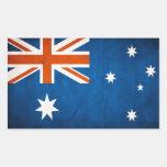 Pegatina de la BANDERA de AUSTRALIA del vintage