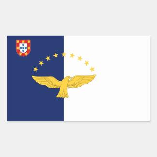 Pegatina de la bandera de Azores
