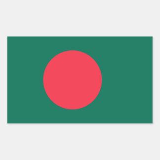 Pegatina de la bandera de Bangladesh