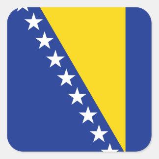 Pegatina de la bandera de Bosnia y Hercegovina