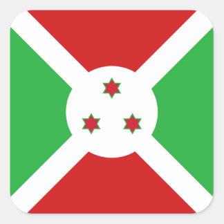 Pegatina de la bandera de Burundi