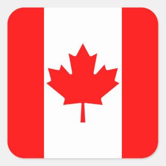 Pegatina de la bandera de Canadá