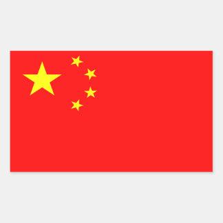 Pegatina de la bandera de China