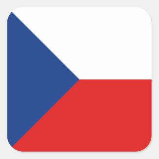 Pegatina de la bandera de Czechia