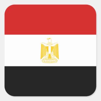 Pegatina de la bandera de Egipto