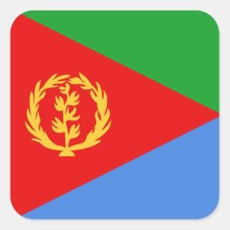 Pegatina de la bandera de Eritrea
