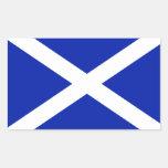 Pegatina de la bandera de Escocia