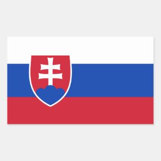 Pegatina de la bandera de Eslovaquia