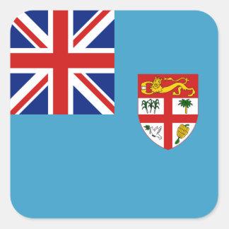 Pegatina de la bandera de Fiji
