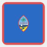 Pegatina de la bandera de Guam