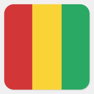Pegatina de la bandera de Guinea-Conakry