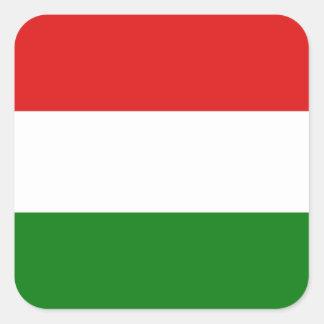 Pegatina de la bandera de Hungría