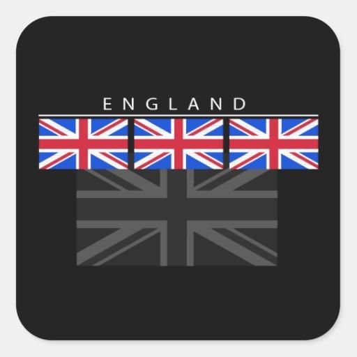 Pegatina de la bandera de Inglaterra