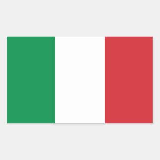 Pegatina de la bandera de Italia
