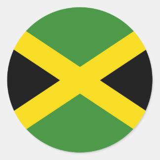 Pegatina de la bandera de Jamaica