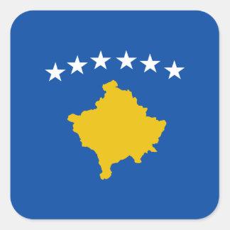 Pegatina de la bandera de Kosovo