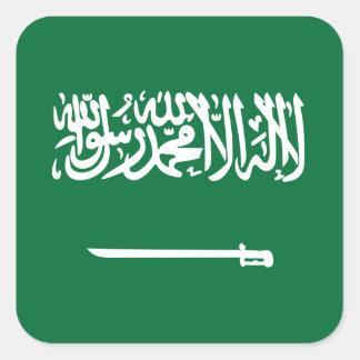 Pegatina de la bandera de la Arabia Saudita