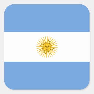 Pegatina de la bandera de la Argentina