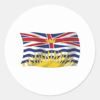 Pegatina de la bandera de la Columbia Británica