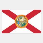 Pegatina de la bandera de la Florida