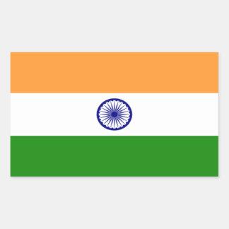 Pegatina de la bandera de la India