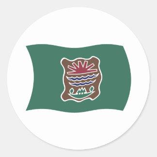 Pegatina de la bandera de la tribu de Abenaki