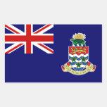 Pegatina de la bandera de las Islas Caimán