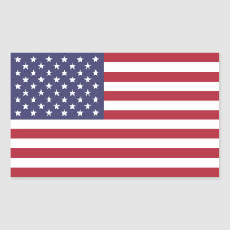Pegatina de la bandera de los E.E.U.U.