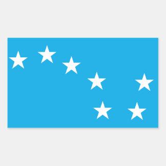 Pegatina de la bandera de los trabajadores