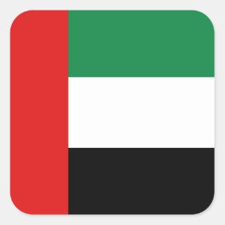 Pegatina de la bandera de los UAE