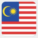 Pegatina de la bandera de Malasia