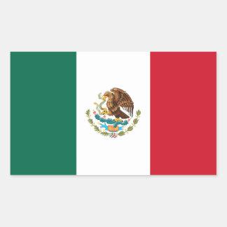 Pegatina de la bandera de México