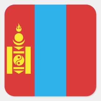 Pegatina de la bandera de Mongolia