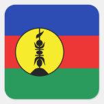 Pegatina de la bandera de Nueva Caledonia
