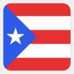 Pegatina de la bandera de Puerto Rico