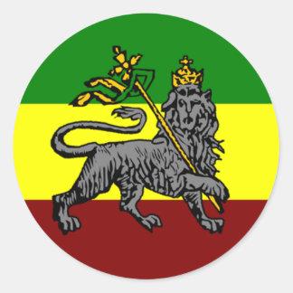Pegatina de la bandera de Rasta