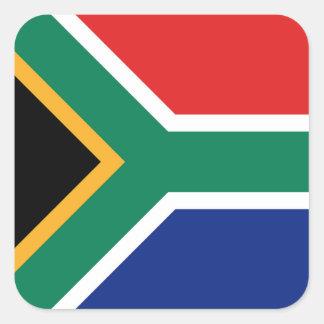 Pegatina de la bandera de Suráfrica