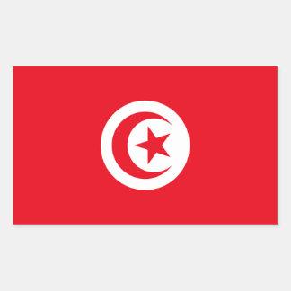 Pegatina de la bandera de Túnez