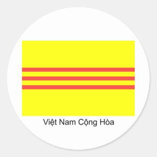 Pegatina de la bandera de VNCH