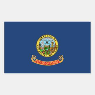 Pegatina de la bandera del estado de Idaho