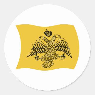 Pegatina de la bandera del patriarca ecuménico