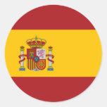 Pegatina de la bandera nacional de España