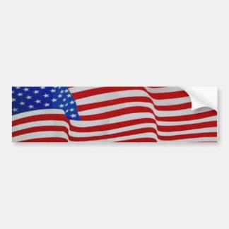 pegatina de la bandera que agita pegatina para auto