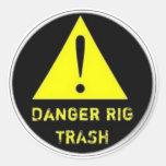Pegatina de la basura del aparejo