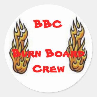 Pegatina de la BBC