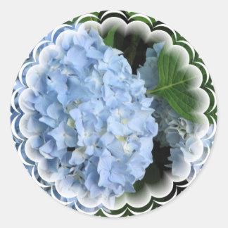 Pegatina de la belleza del verano del Hydrangea